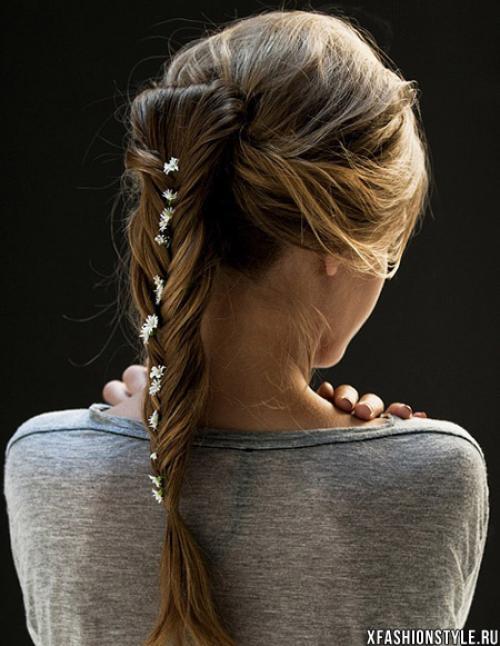 Романтичные прически на средние волосы. Романтические прически на длинные волосы