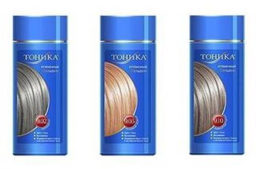 Тоника для осветленных волос. Использование Тоники на осветленные волосы — доступное радикальное изменение цвета