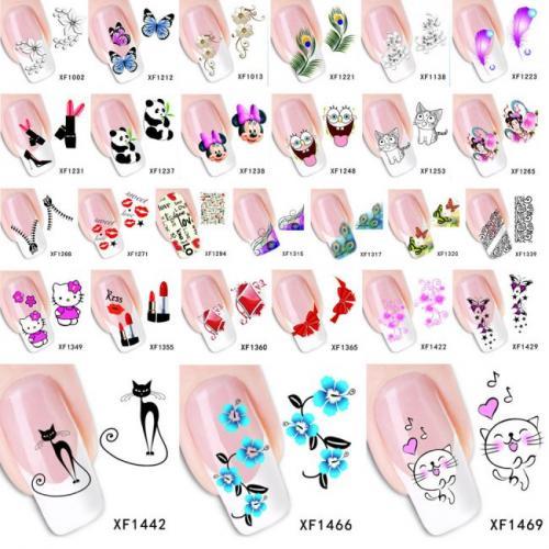 Рисунки на ногтях своими руками. Другие методы создания простых рисунков на ногтях
