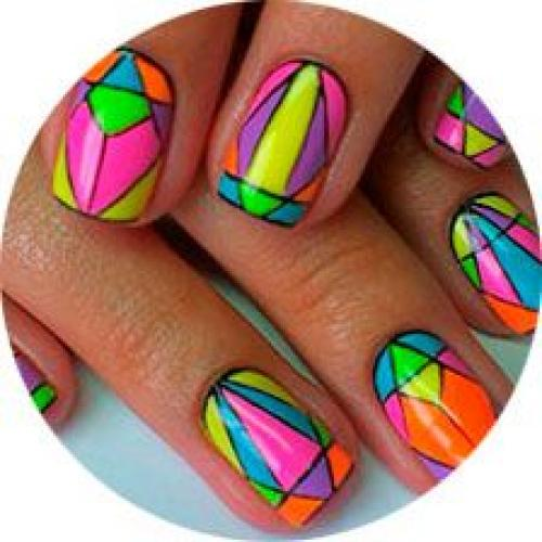 Как сделать красивый рисунок на ногтях в домашних условиях. Рисунки на ногтях в домашних условиях (30 фото)