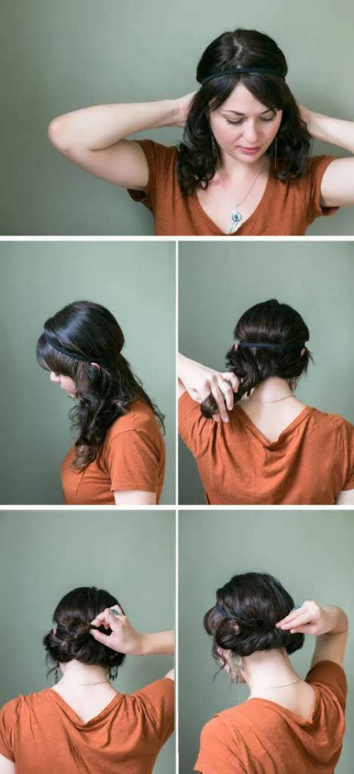 Как сделать прическу в греческом стиле без повязки самой себе. Низкая укладка в греческом стиле