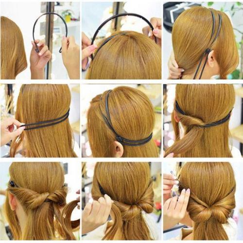 Как самой себе сделать прическу в греческом стиле с повязкой. Для какой длины волос подходит греческая прическа?