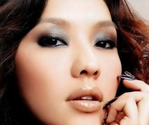 Вечерний макияж глаз для азиаток. Вечерний макияж для азиатских глаз