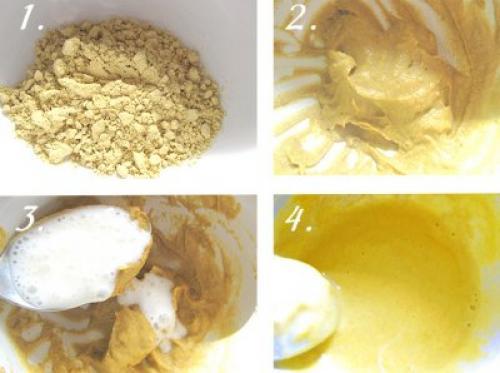 Маска для волос из кефира горчицы и яиц. Рецепт маски для волос с кефиром и горчицей