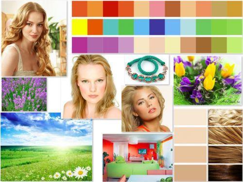 Цветотип Весна макияж. Цветотип Весна: описание