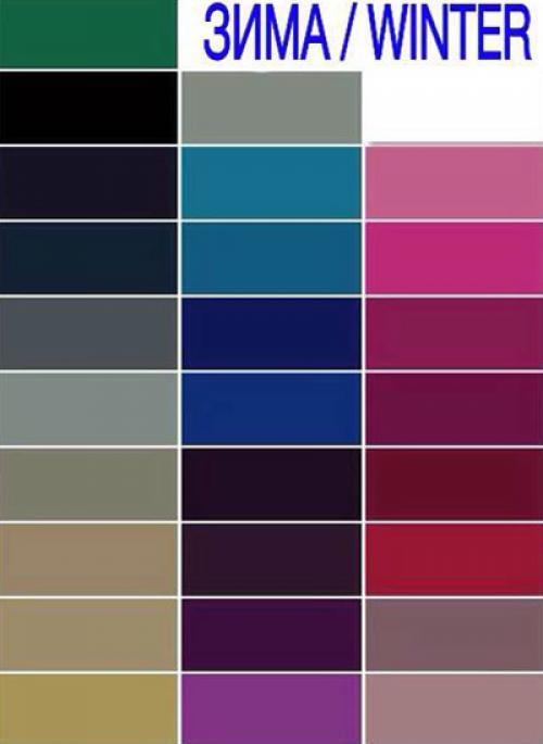 Цветотип Зима в 40 лет. Цветотип зима — какой цвет волос подойдет лучше других?