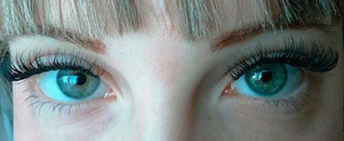 Изгиб нарощенных ресниц м. Какие формы глаз существуют