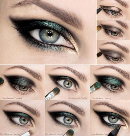 Макияж глаз на каждый день для серых глаз пошагово. На вечеринку, праздник или торжество Как сделать вечерний макияж для серых глаз? Давайте определим, какой макияж можно считать вечерним. Он должен быть: