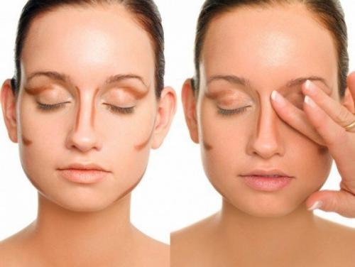 Как с помощью макияжа сделать нос визуально меньше. Как уменьшить нос: маскировочный макияж