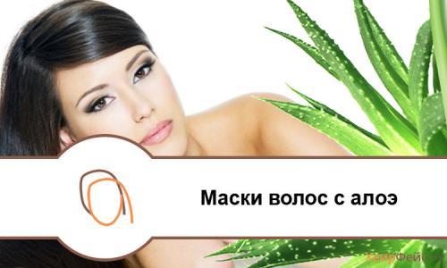 Маски для лица и волос в домашних условиях из Алоэ рецепт. Маска для волос из алоэ