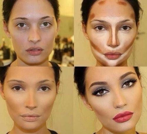 Как сделать при помощи косметики визуально меньше нос. Как визуально уменьшить нос макияжем?
