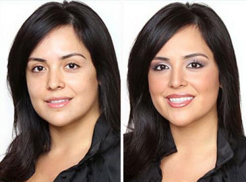 Как нос сделать визуально меньше с помощью корректора. Как макияжем уменьшить нос
