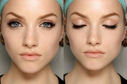 Возрастной макияж для глубоко посаженных глаз. Особенности такого макияжа