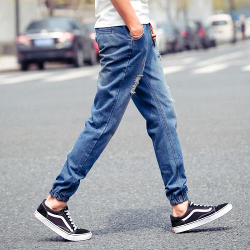 Модные мужские штаны с резинкой внизу. Как называются мужские джинсы с резинкой внизу?
