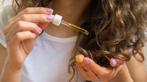 Лучшее масло для кончиков волос