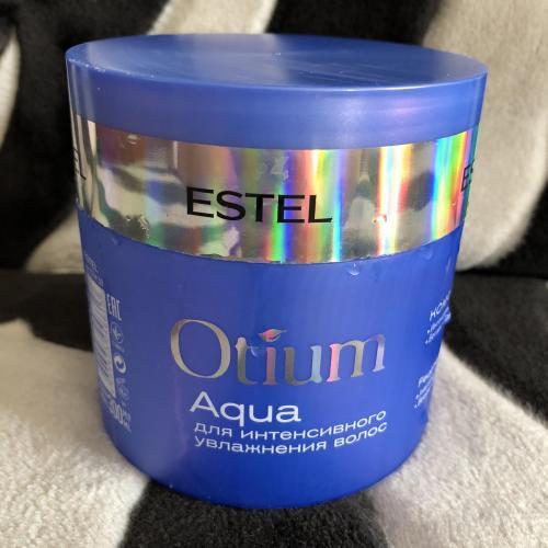 Estel otium aqua безсульфатный шампунь. Итак, маска