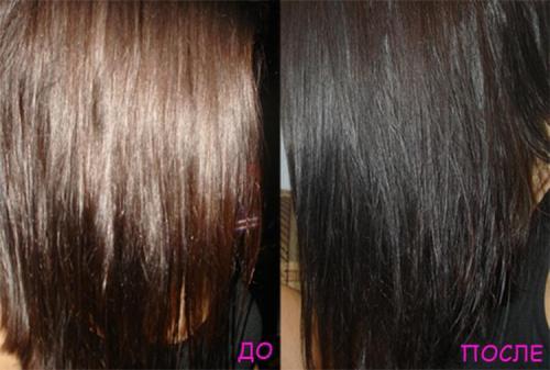 Сколько держать басму на волосах для черного цвета. Популярные оттенки