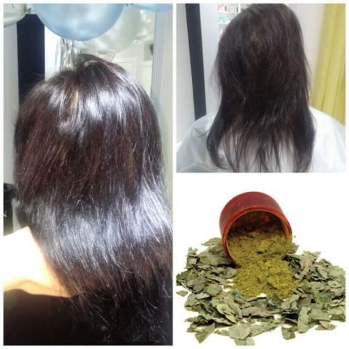 Окраска хной темных волос. Полезные качества хны для волос