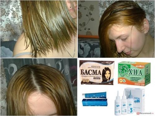 Как смыть с волос басму. Басма для волос: хитрости применения, отзывы, советы, фото