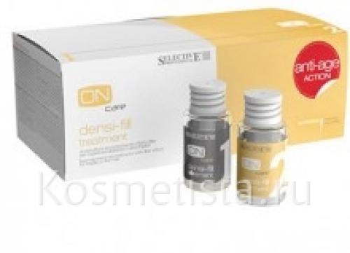Филлер селектив для волос. Двухкомпонентный филлер для восстановления волос Selective ONcare Densi-Fill Treatment