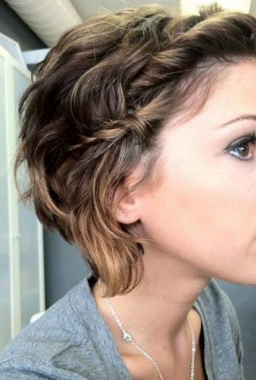 Прически на короткие волосы для девочек 15 лет. Современные косы