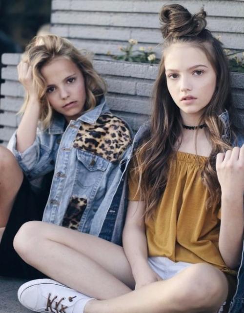 Причёски для подростков девушек на каждый день. Многообразие пучков