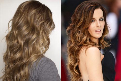 Прически из полудлинных волос. Прически с длинными распущенными волосами