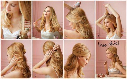 Прически на каждый день на подростков. Примеры простых и красивых укладок в школу на распущенные волосы