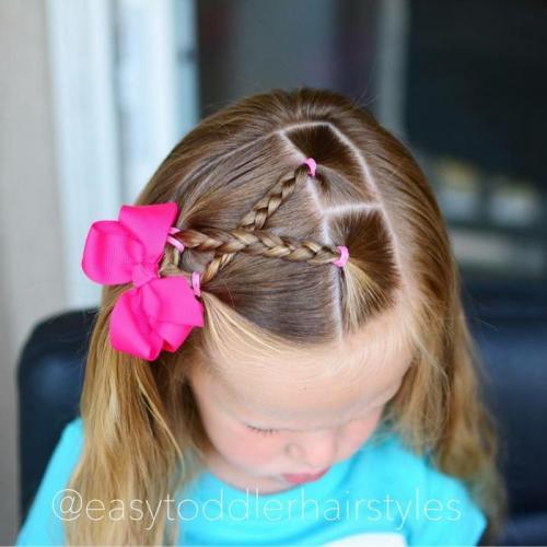 Прически в садик на короткие волосы. Быстрая прическа на каждый день для садика