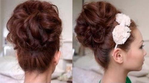 Прически высокие для средней длины волос. Как сделать такую прическу своими руками – пошаговое руководство с фото