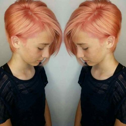 Прическа для подростка девочки. Красивые стрижки для девочек на короткие волосы