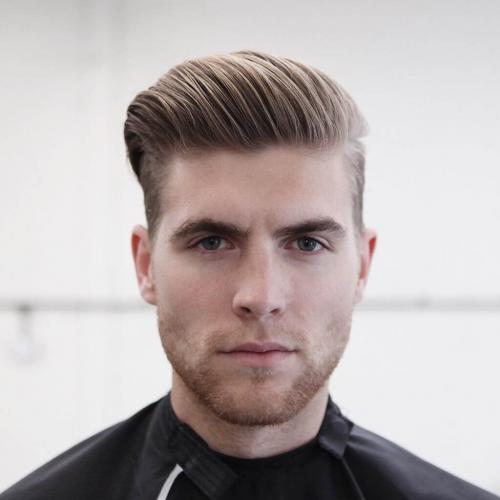 Стрижки мужские 2019 с пробором. Модная мужская стрижка undercut на короткие волосы 2019