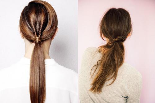 Прически на длинные волосы. Идеи прически на длинные волосы с хвостом
