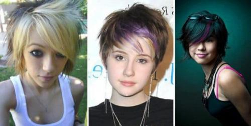Стрижка для 13 летней девочке. Крутые красивые стрижки для девочек для коротких волос