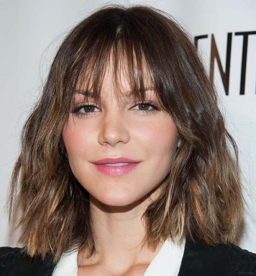 Прически на прямые волосы средней длины. Стрижки без укладки – модно экономим время