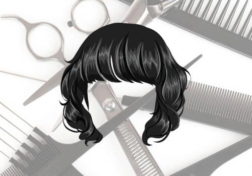 Прическа на средние черные волосы. Модные женские стрижки на средние темные волосы