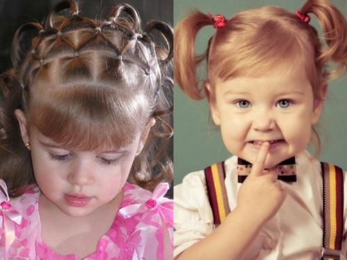 Прически на короткие волосы тонкие для девочек. Детские прически на короткие волосы: как создать красивый образ