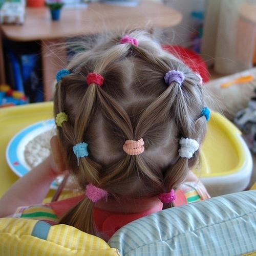 Прически для маленьких девочек из хвостиков. Лучшие решения прически для садика