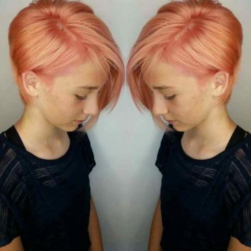 Прическа на средние волосы для девочки подростка. Красивые стрижки для девочек на короткие волосы