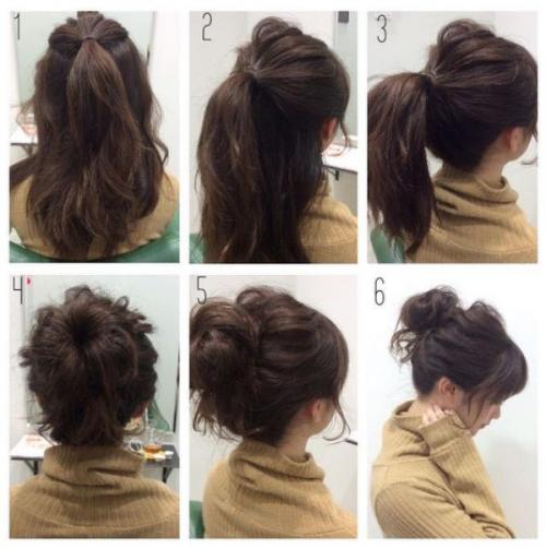 Прически на средние волосы с челкой собранные волосы. Красивые варианты на среднюю длину