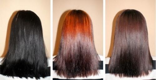 Как смыть цвет волос в домашних условиях. 20 способов, как смыть черный цвет с волос