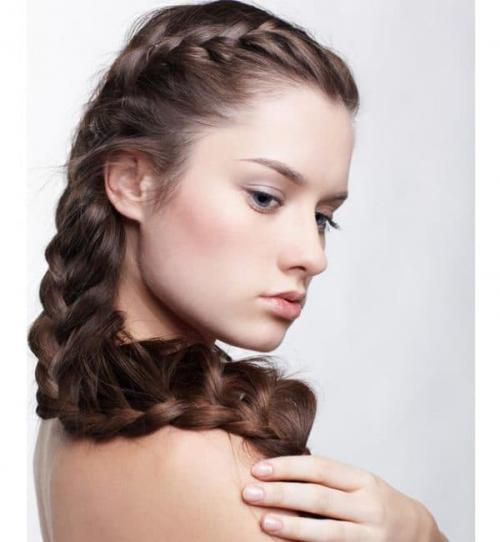 Прическа на длинные волосы для подростка. Роскошные косы – вечная романтика