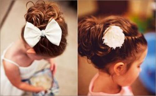 Прически девочкам в садик на короткие волосы. Как выбрать правильную прическу