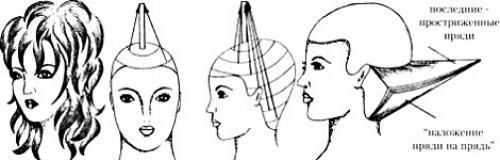 Схемы стрижек для парикмахеров. Технология стрижки каскад или как стричь каскад?