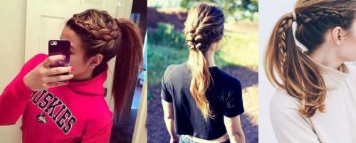 Прически спортивные для девушек на средние волосы. Лучшие спортивные прически для девушек и женщин