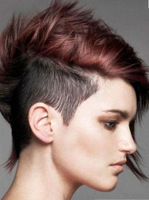 Экстремальные стрижки на длинные волосы. Кому подходят экстремальные причёски