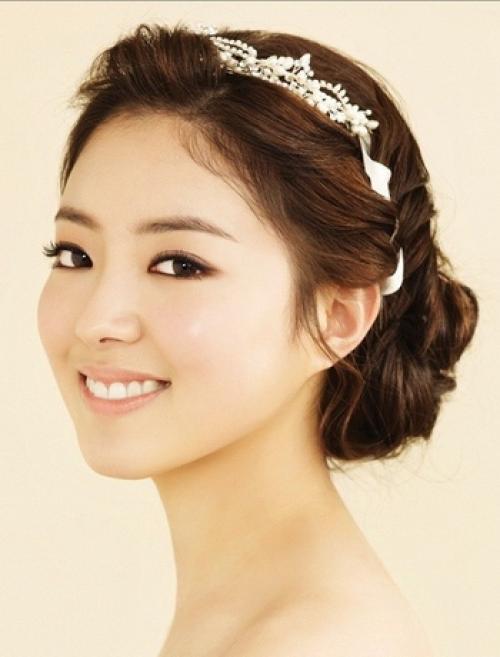 Азиатские прически для девушек. Корейские свадебные прически для девушек своими руками (с фото)