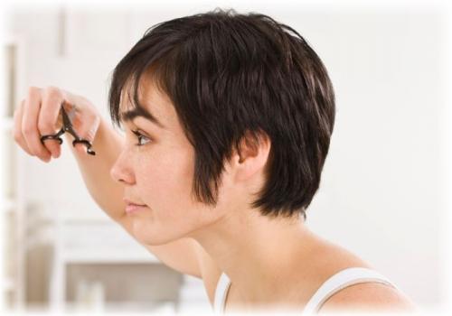 Как подстричь короткие волосы. Как подстричь короткую женскую стрижку