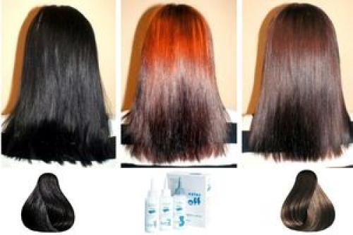 Как выйти с черного цвета волос в русый. Как из черного перекраситься в русый? Четыре простых способа 06