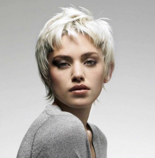 Короткая модельная стрижка женская. Варианты стрижек на короткие волосы